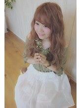 ヘアー ガーデン バレッタ(hair garden barretta)【重×軽ウェーブ】ナチュラル・ガーリー