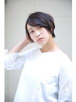 ヘアアンドスパ ルート(ROOT)☆クールな小顔ショート☆