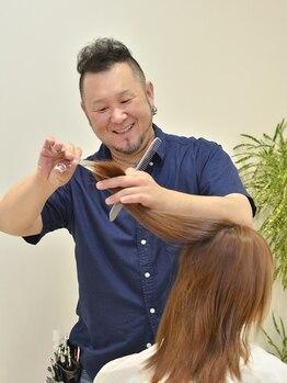 グラッド ヘアーアンドエステ(GLAD hair&esthe)の写真/髪の量が多い、クセが強い…そんなお悩みを持つ方のお助けサロン☆自然にまとまる扱いやすいスタイルに!