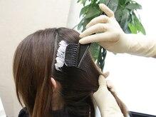 髪質改善サロン リーフ(Leaf)の雰囲気(グレイカラーもキレイに染まる☆色味のご相談もお任せ下さい♪)