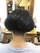 ヘアーアトリエクレリエール(Hair Atelier Clairie'RE)変則ボブ