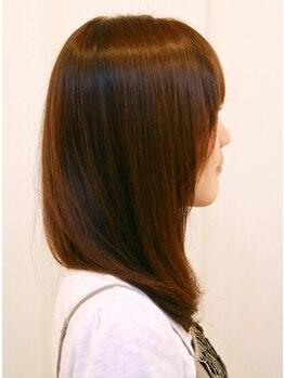 ヘアーオブマジック アンファン(Hair of magic Enfants)の写真/ヘアリセッターで髪の生えグセを改善!縮毛矯正しなくてもスルンとまとまる♪扱いやすいスタイルに☆