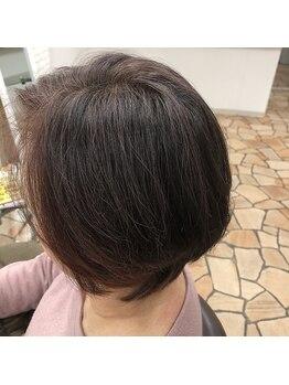 美容室 アイシー(ai-sy)の写真/グレイカラーなのに?!ai-syなら、外国人風カラーや3Dカラーも可能!白髪染めをもっとお洒落に幅広く♪