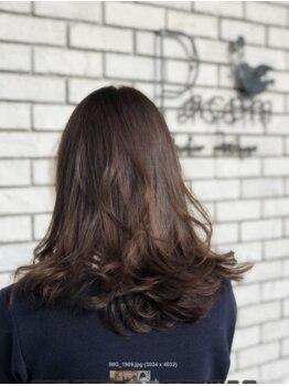 パーチェム ヘア デザイン(Pacem hair design)の写真/朝のスタイリング時間の短縮にも♪スタイリングがぐんと楽になるパーマがオススメなサロンです♪