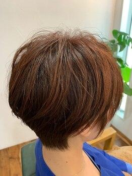 ディープ ヘアースペース(Deep hair space)の写真/細毛や敏感肌で繰り返す白髪染めに不安の方必見♪ハーブ・漢方や酵素で傷みを軽減しハリコシが欲しい方も◎