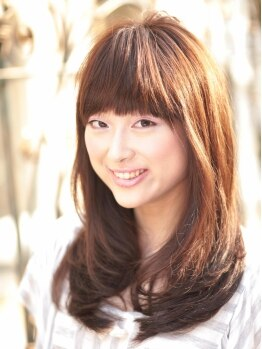 ヘアーサロン ミツル(HAIR SALON mitsuru+nuance)の写真/【カウンセリング重要視!!】肌色・顔型・服装・化粧・雰囲気…、似合う髪色を見つけてくれるサロン!!
