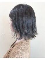 ヘアースペース ブイ(hair space V)(外ハネ+ボブ)×グレージュ=今どき可愛い!