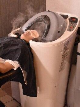 """オブジェ(OBJET)の写真/【未体験の心地よさ♪】水流で洗う最新シャンプー""""アクアフォルテ""""導入!髪と頭皮に最高峰レベルのケアを*"""