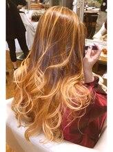 ヘアープロデュース ア ラ モード(Hair Produce A La Mode)メッシュ&グラデーションカラーONハイブリッドミックス