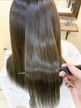ルミヨコハマ 横浜駅店(Lumi)の写真/【話題沸騰中☆】本物の髪質改善へ。<酸熱トリートメント>で髪の内部から美しさがあふれる髪に。