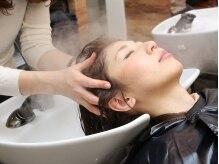 アビーヘアー 西大島店(abie hair)の雰囲気(フルフラットのシャンプー台で筋膜リリースヘッドスパ体験…☆)