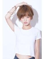 【morio池袋】夏人気大人可愛い流行り前下がりショート