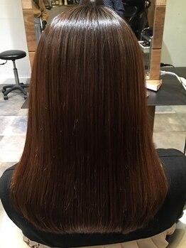 コディーノ(codino)の写真/矯正で傷んだ髪は適切なケアをしなければ修復しません。もう…無理なんて諦めてる方!当店にお任せ下さい♪
