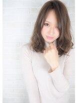 ヘアーブランド リンク 三宮店(HAIR BRAND Link)【Link】シナモンアッシュ×ミディアムウェーブ