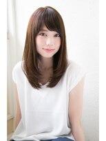 【Un ami 表参道】オトナかわいい・セミディーヘア 松井 幸裕