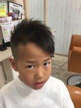 ファミリーヘアサロン シェルブルー(Family Hair Salon SHELL BLUE)プリチー アシメヘア2