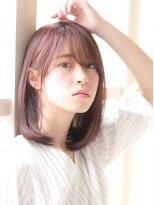 《dress/川崎71》☆ノーブルストレート×斜めバング☆