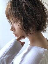 EL☆ショートボブパーマ×ハイライトカラー☆0112327997