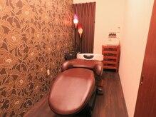 美容室 オルガニーク 沖浜店の雰囲気(ヘッドスパ専用個室もご用意しています。)