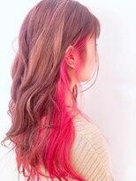 ネオヘアー 曳舟店(NEO Hair)【インナーカラー】Pink×Pink(曳舟)