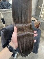 サロンドミルク 原宿(salon de MiLK)ナチュラル艶カラー 髪質改善