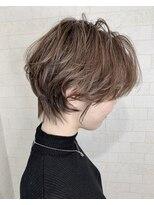アルマヘア(Alma hair)【Alma】甘辛ショート☆アッシュブラウン