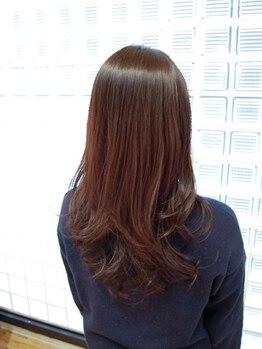バロラマ(BALORAMA)の写真/バロラマ本店◆天然由来92%の【ヴィラロドラ】オーガニックカラー導入。カラーをしているのに素髪のよう…