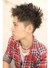 ヘアースタジオ シロ(hair studio siro)【street】ツーブロック×ツイストパーマ
