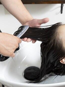 ビオヘアー(B.O.hair)の写真/[しっとり毛先までまとまる×サラサラでなめらかな指通り]通うたびについ触れたくなるうるツヤ髪へ♪
