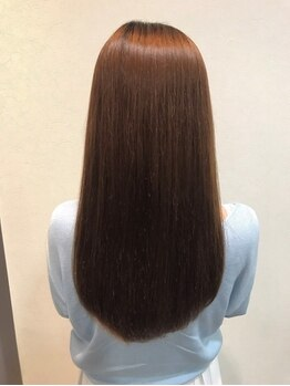 ロア みなとみらい(LORE minatomirai)の写真/ついに解禁!!LOREオリジナル[髪質改善ヘアエステ]★髪1本1本に栄養を与え、潤いを含んだまとまる艶髪に。