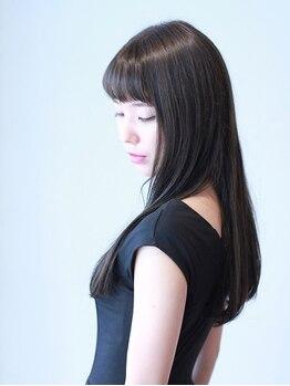 リカモ(ricamo)の写真/みずみずしく上質な髪質に☆トリシスコアトリートメントで美しさと強さをキープし、髪の状態を保ちます!
