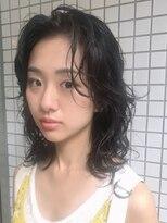 マグノリア オモテサンドウ(MAGNOLiA Omotesando)黒髪さんにおすすめ!ゆったりスパイラルパーマ