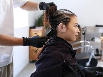 マクラメ(macrame)の写真/お客様一人ひとりに合わせた施術で髪の悩みも解決。安心してお任せでき、心から満足のいく仕上がりに!