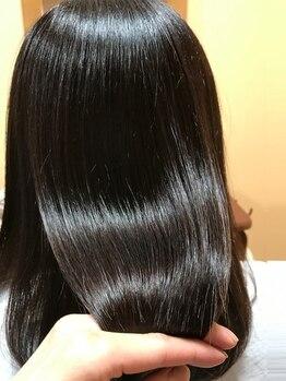 ビール 野芥店(BEER)の写真/期間限定【次世代縮毛矯正】ネオリシオストレ-ト☆手触りの違いと艶感!素髪の様な仕上がりを体感してみて♪