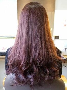 染め家 茨木店の写真/【茨木】ハーブ配合で頭皮にも髪にも優しいカラー♪丁寧なカウンセリングで、なりたいカラーの相談も◎!!