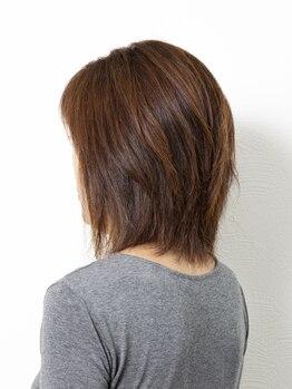 ビオヘアー(B.O.hair)の写真/毎月でも通いやすい♪お客様のライフスタイルに合わせて、数種類のメニューからお選び頂けます。