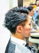 オムヘアーツー (HOMME HAIR 2)#ビジカジ#アップバング#マッシュレイヤーHommehair2nd櫻井