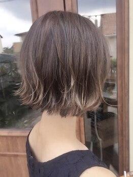 """ミチタ(michita)の写真/繊細で丁寧なカット*あなたの素髪を""""今よりもっと素敵な""""ナチュラルヘア&乾かすだけでまとまるヘアに☆"""