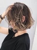 アルバム シンジュク(ALBUM SHINJUKU)ハイライトグラデーション_ココアブラウンセシルカット_ba217612
