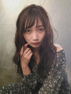 アナ ラーナ(Anna Lanna)大人かわいいアンニュイウェーブロング☆【奥村北斗】[表参道]