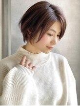 アグ ヘアー フラン 盛岡本宮店(Agu hair fran)《Agu hair》大人かわいいフェミニンショート