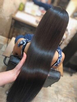 ボブ 関内(BOB)の写真/ヘアケアしながら美髪を叶える【髪質改善ストレートエステ♪】これまでにない美しさを引き出す新感覚の縮毛