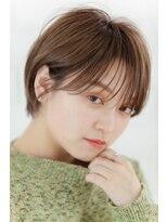 リル ヘアーデザイン(Rire hair design)【Rire-リル銀座-】シースルーなショートボブ