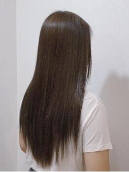 ヘアーディレクションイアス (HAIR DIRECTION eAs)の写真/《eAs》の柔らかく自然な仕上がりが人気!!クセが強くてお悩みのお客様も多く足を運ぶ♪