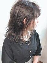 ラフィネ(raffine)インナーカラーでお洒落髪に×セミディーボブ★raffine 中村大輔