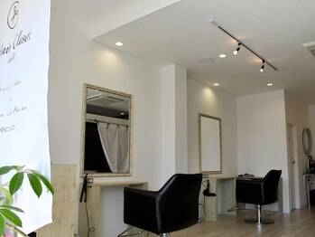 アトリエ ヘア クローゼット(atelier Hair Closet)の写真/【問屋町すぐ!】周りを気にせず、ゆっくりとした時間を過ごせるマンツーマンサロン[ateliet Hair Closet]