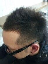 メンズアートヘアー ブーム(MEN'S ART HAIR BOOM)ソフトモヒカン(アレンジ)