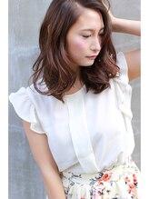 ドレス ヘアーアンドメイク(DRESS hair&make)DRESShair&makeラフボブウエーブ