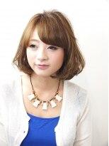 ヘアメイクエシェル 小松店(Hair Make e‐shell)大人可愛い♪ミディアムボブ☆