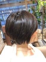 オーガニックサロン フェイス 梅田店(organic salon face)大人女性のためのショートスタイル